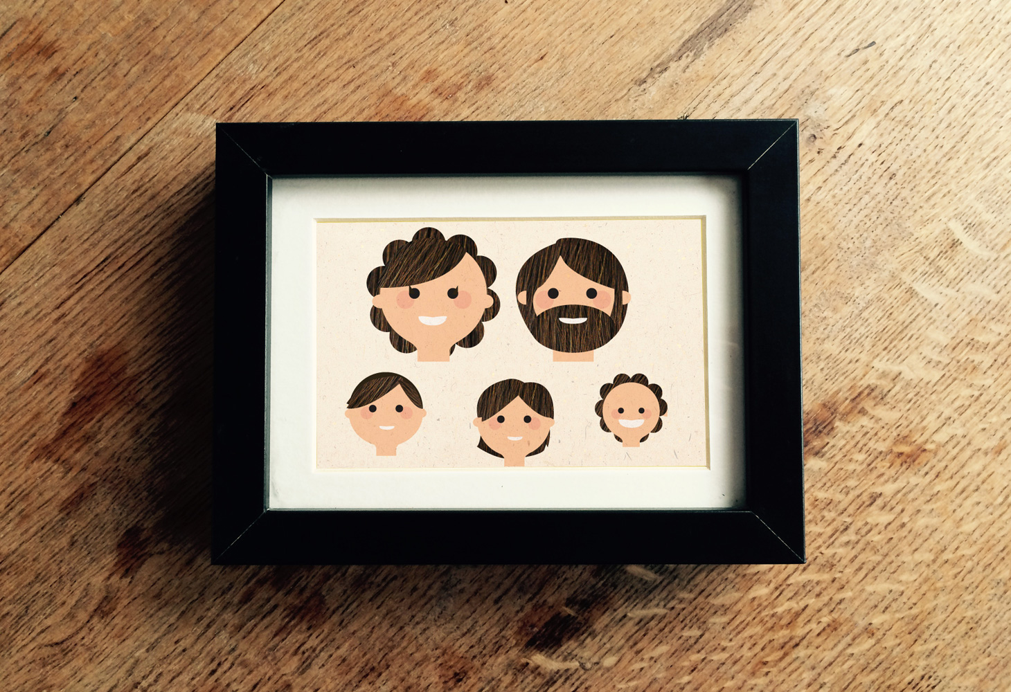 Bespoke Illustration - Family