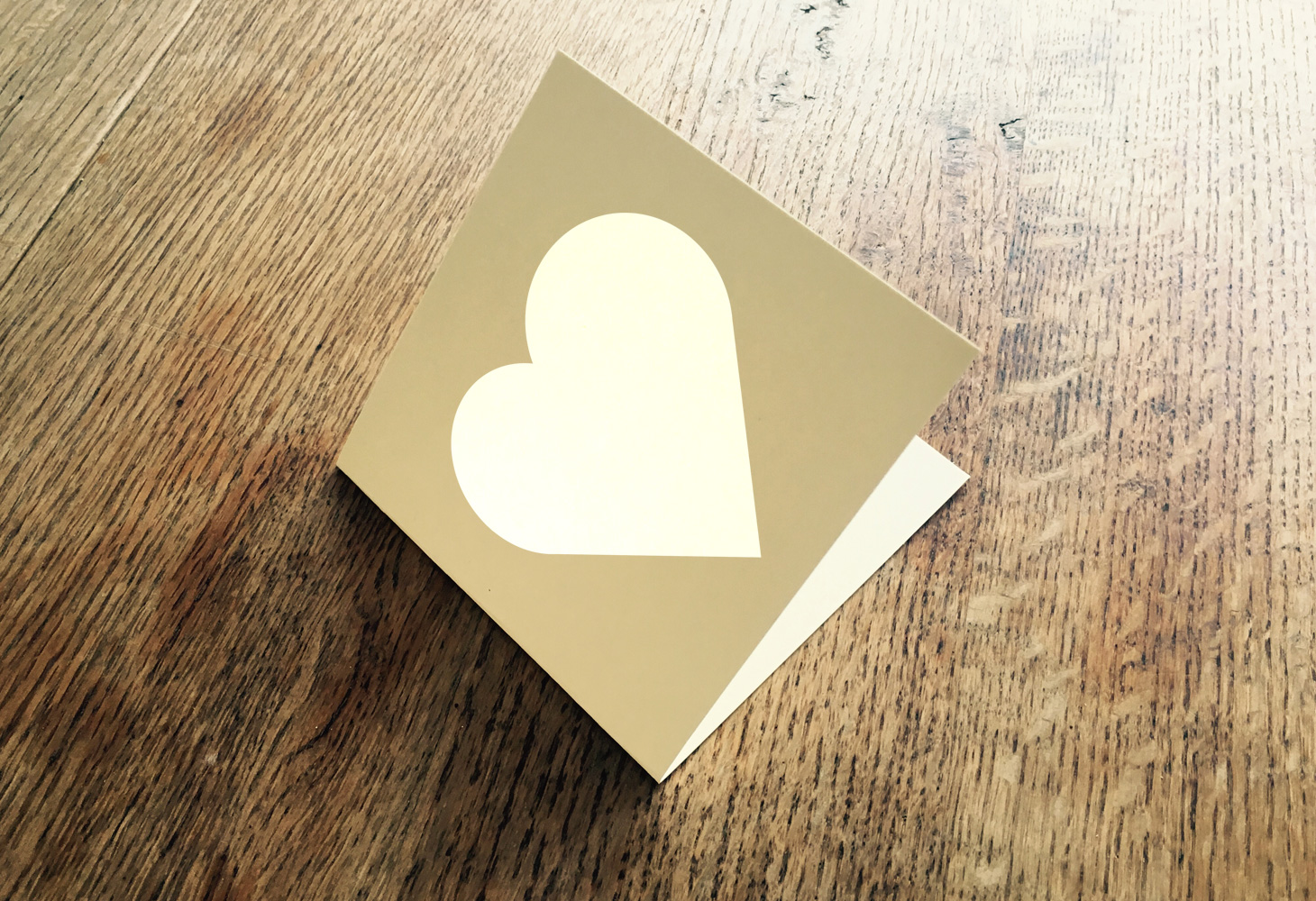 Warwicka Agape Love Heart Card